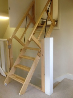 Petworth Electric Loft Ladder. Automatic ...
